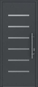 Aluminium-Eingangstüren