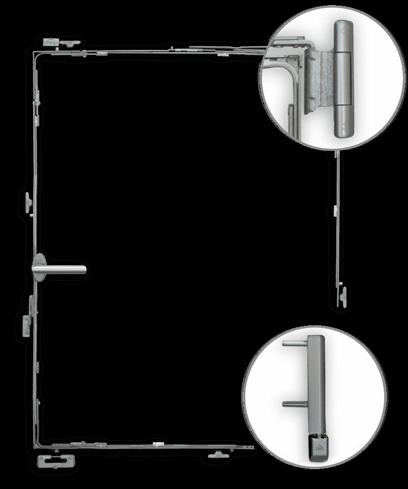 Sicherheitselemente - Fensterbander