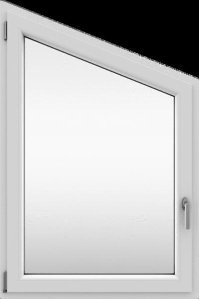 Untypische Formen für wärmeisolierende Fenster aus PVC